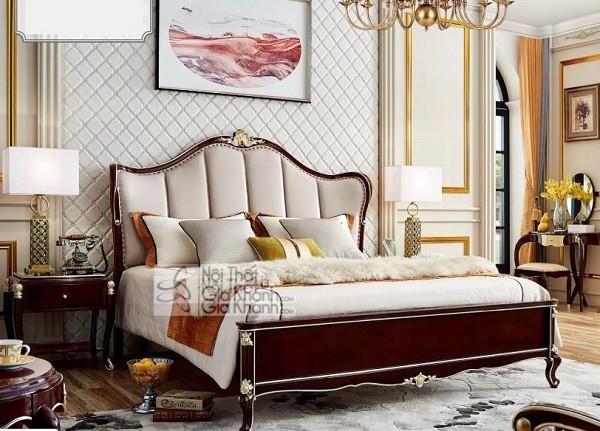 Những mẫu giường ngủ phong cách cổ điển cho gia chủ ưa sự quyền quý - nhung mau giuong ngu phong cach co dien cho gia chu ua su quyen quy 2