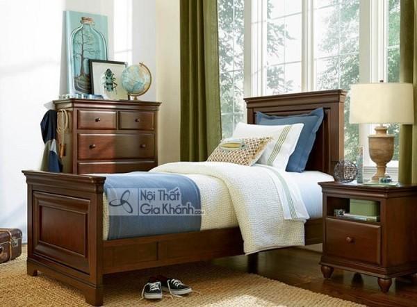 Những mẫu giường ngủ phong cách cổ điển cho gia chủ ưa sự quyền quý - nhung mau giuong ngu phong cach co dien cho gia chu ua su quyen quy 3