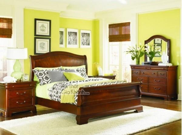Những mẫu giường ngủ phong cách cổ điển cho gia chủ ưa sự quyền quý - nhung mau giuong ngu phong cach co dien cho gia chu ua su quyen quy 6