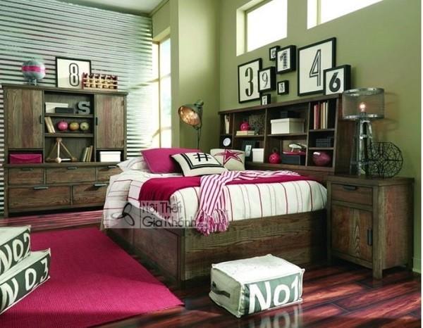 Những mẫu giường ngủ phong cách cổ điển cho gia chủ ưa sự quyền quý - nhung mau giuong ngu phong cach co dien cho gia chu ua su quyen quy 7