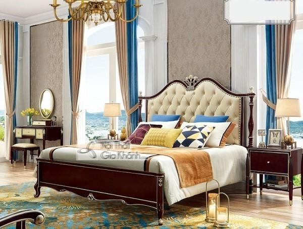 Những mẫu giường ngủ phong cách cổ điển cho gia chủ ưa sự quyền quý - nhung mau giuong ngu phong cach co dien cho gia chu ua su quyen quy