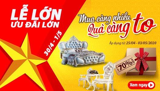 Siêu thị nội thất nhập khẩu top 1 Hà Nội - tin soc nhat mua corona mua hang online – nhan ngay uu dai khung 20 3