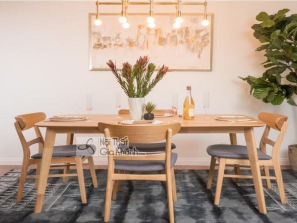 Top 30+ mẫu bàn ghế ăn gỗ tự nhiên đẹp - hiện đại - cao cấp nhất