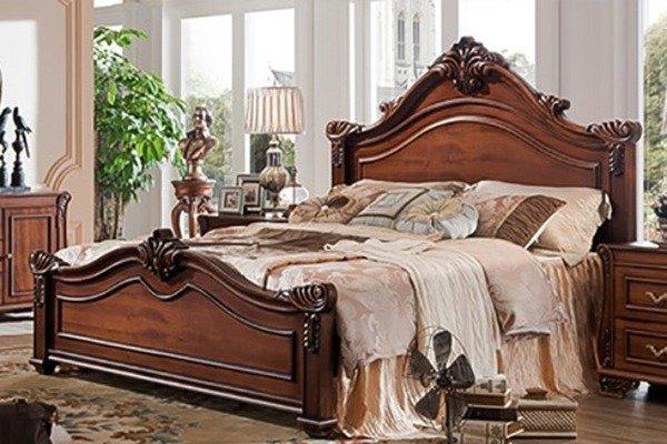 """Phát """"sốt"""" trước sự đa dạng và tính thẩm mỹ của giường ngủ gỗ hương"""
