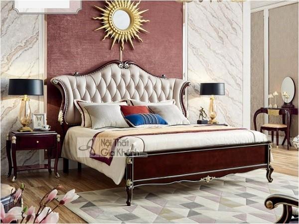 Các thiết kế giường ngủ tân cổ điển châu âu