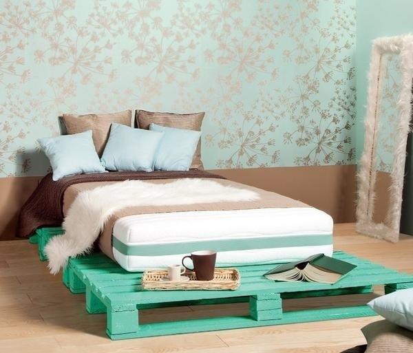 Giường Pallet - Điểm nhấn hoàn hảo cho phòng ngủ hiện đại