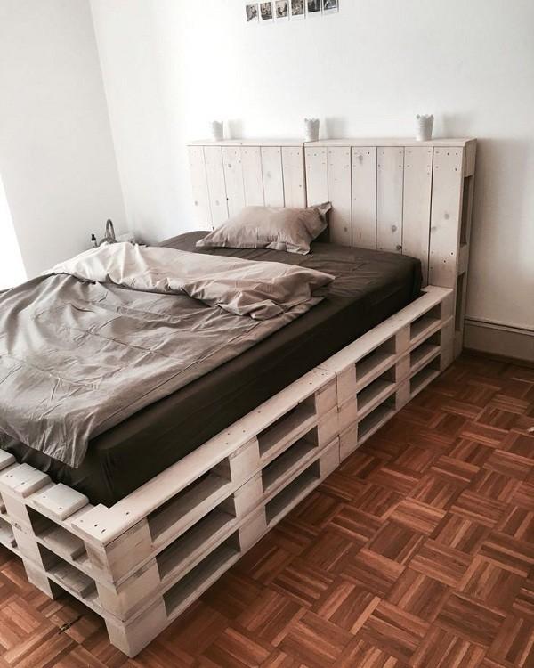 Giường Pallet nhiều tầng đẹp