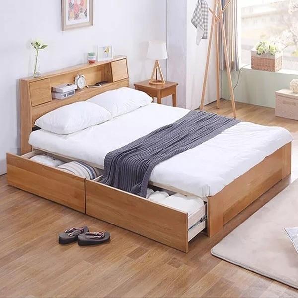 giường hộp gỗ đẹp
