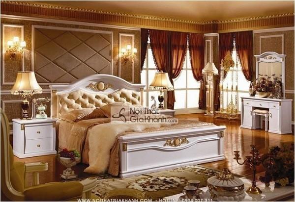 Mẫu giường tân cổ điển sang trọng