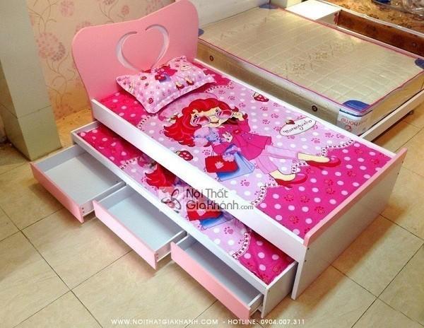 Giường ngủ 2 tầng tích hợp nhiều tiện ích