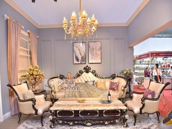 BST Bàn ghế sofa gỗ tự nhiên đẹp cao cấp - hiện đại cho phòng khách