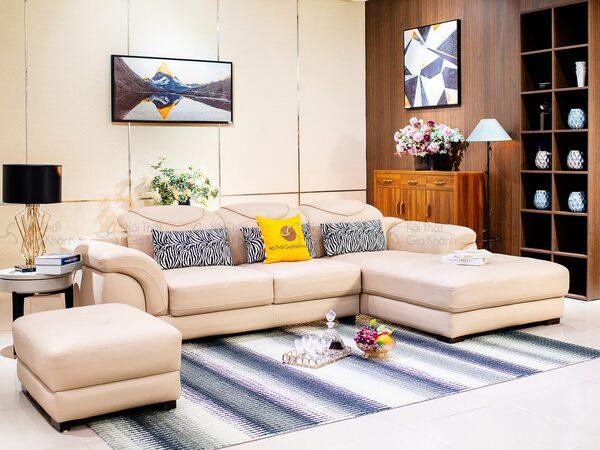Sofa nỉ nhập khẩu đẹp