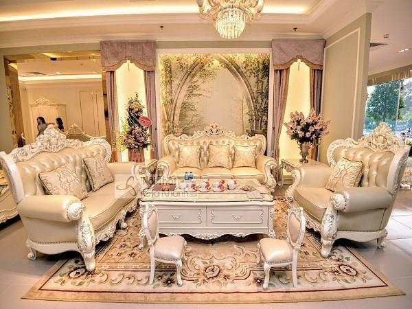 Sofa tân cổ điển Châu Âu