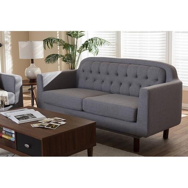 Bàn ghế sofa gỗ óc chó êm ái