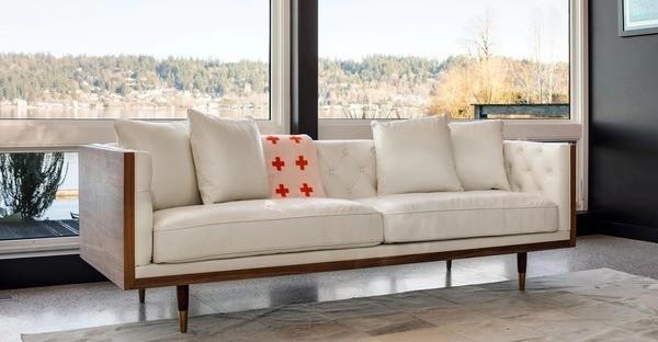 Sofa gỗ óc chó mẫu 1