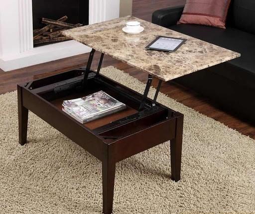 16 mẫu bàn trà kết hợp bàn làm việc hiện đại, tiện nghi nhất