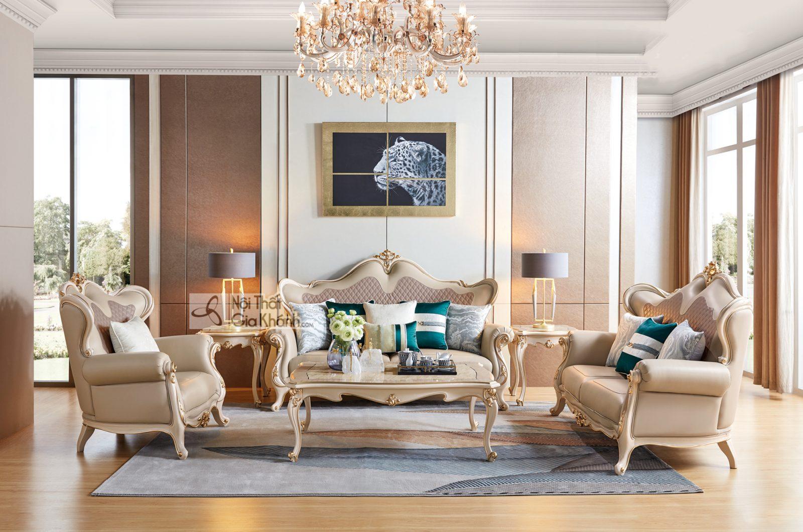 Bộ sofa Luxury SB9801H-1-2-3 đẳng cấp sang trọng
