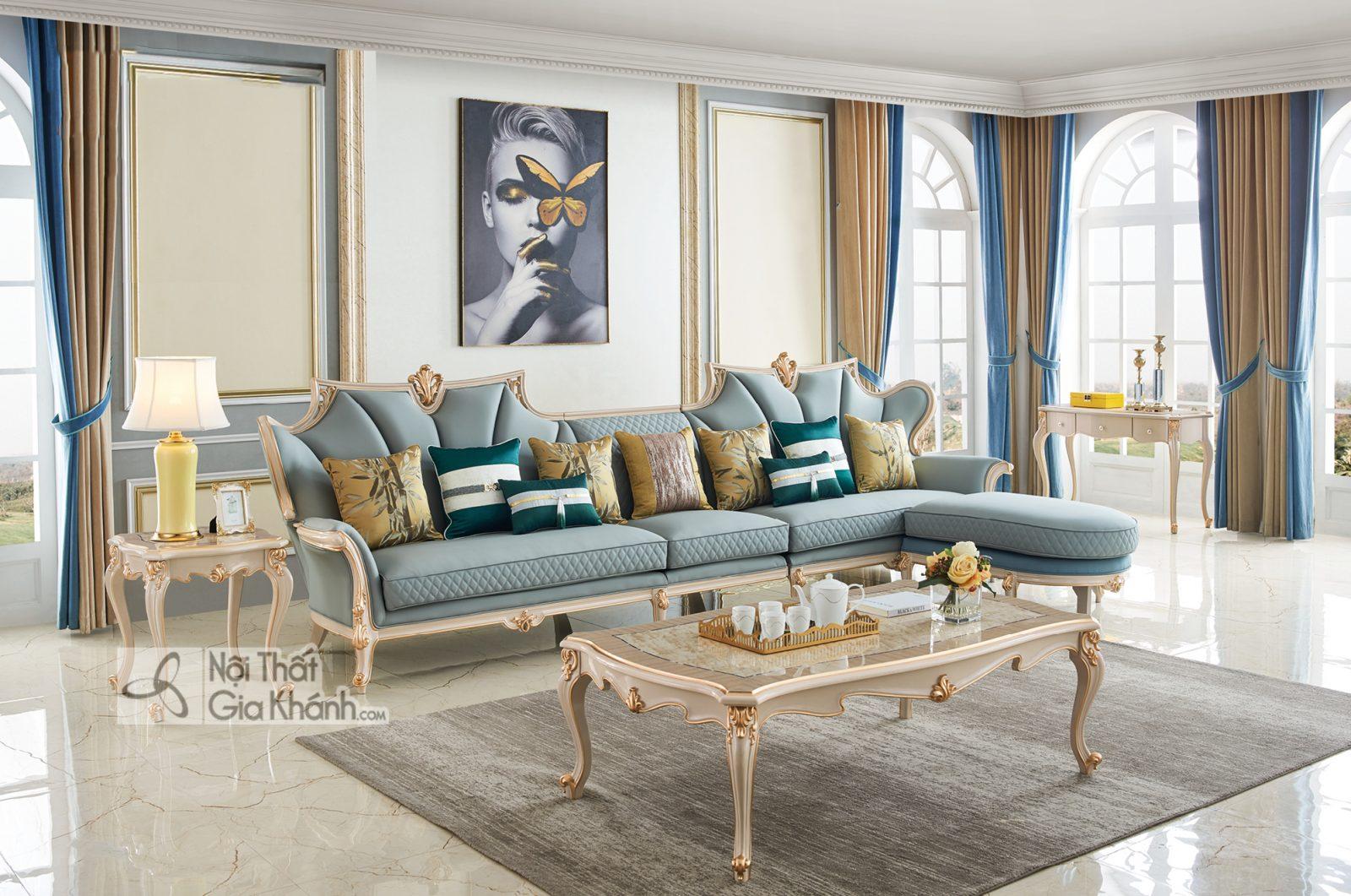 Bộ sofa Luxury SG9808H phong cách sang trọng đẳng cấp