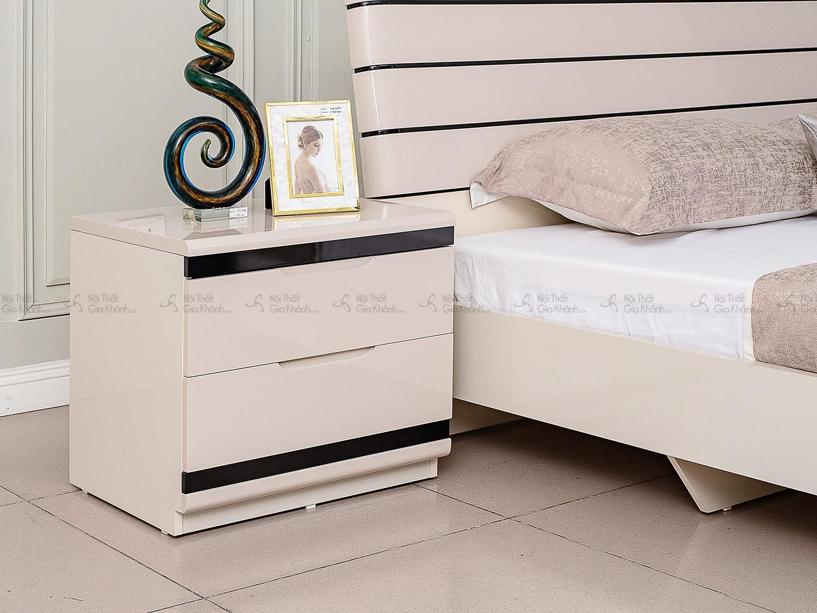 Giường Ngủ Gỗ Hiện Đại Nhập Khẩu GI3307-15