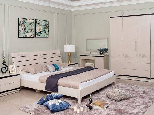 Bộ Giường Tủ Phòng Ngủ Gỗ Hiện Đại Nhập Khẩu BN3307-18