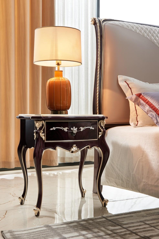 Giường ngủ Luxury GI9803H-18 phong cách sang trọng