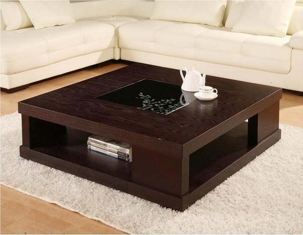 Những kiểu bàn trà sofa gỗ sồi đẹp hớp hồn không thể bỏ qua