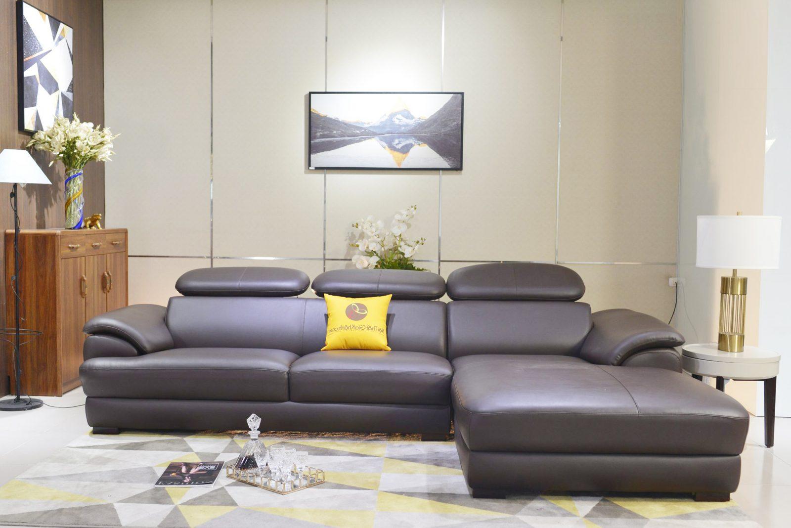 Sofa da hiện đại cho phòng khách ST0933-2-A1