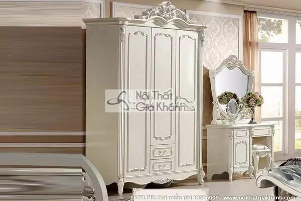 Top mẫu tủ quần áo cho phòng nhỏ giúp tiết kiệm diện tích
