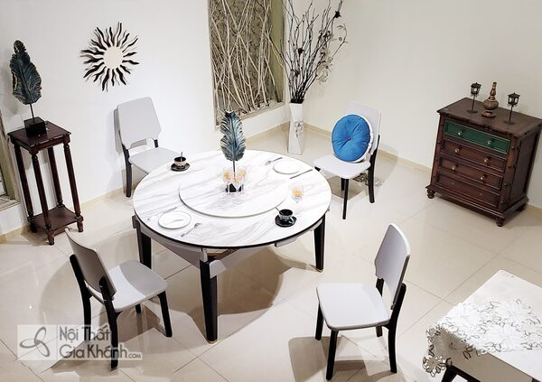 5 Thiết kế bộ bàn ăn chung cư đẹp nên mua nhất năm
