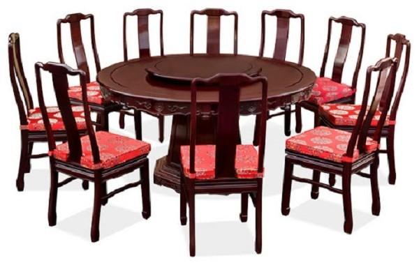 bàn ăn 10 ghế ngồi