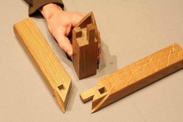các loại liên kết gỗ liên kết mộng