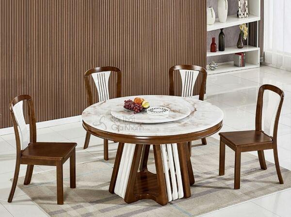 Xu hướng sử dụng bàn ăn đơn giản đẹp phong cách hiện đại