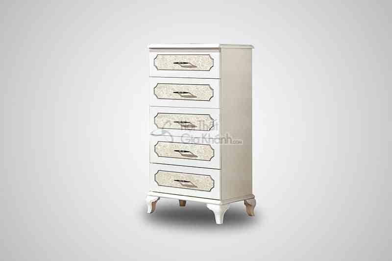 Tủ 5 ngăn kéo tiện dụng gỗ công nghiệp 23618K5