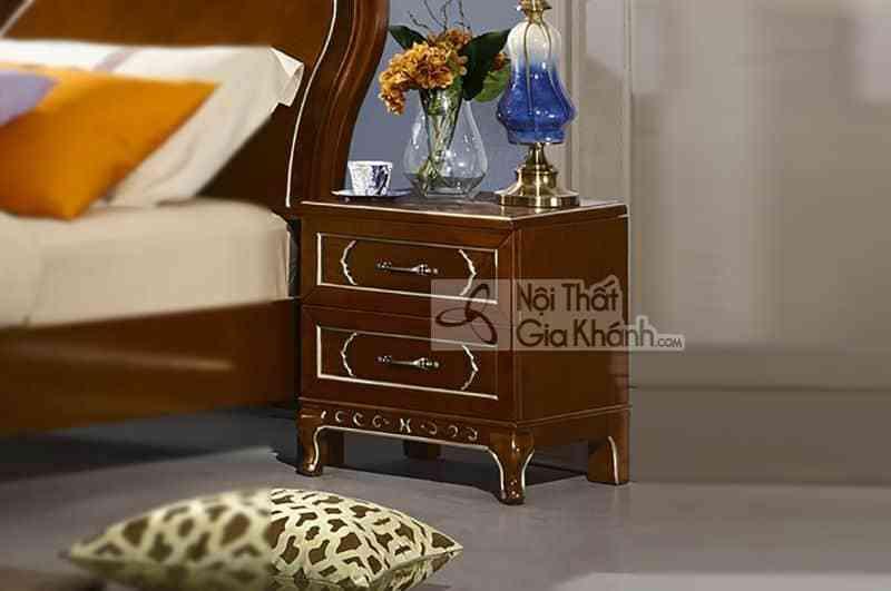 Bộ gường ngủ gỗ Đỏ nhập khẩu cao cấp 59982BG - 2998B Tap