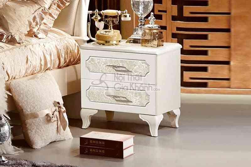 Táp đầu giường gỗ công nghiệp phong cách tân cổ điển 1366B