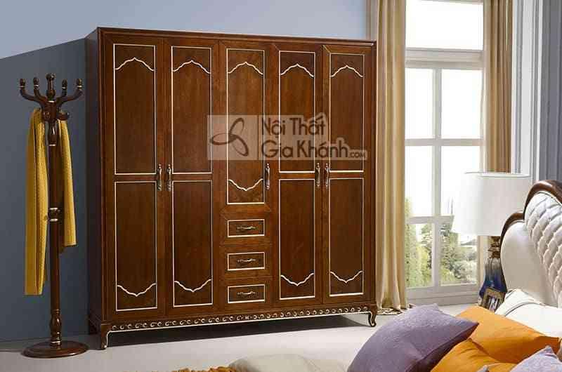Bộ gường ngủ gỗ Đỏ nhập khẩu cao cấp 59982BG - 59982D tu ao 5 canh