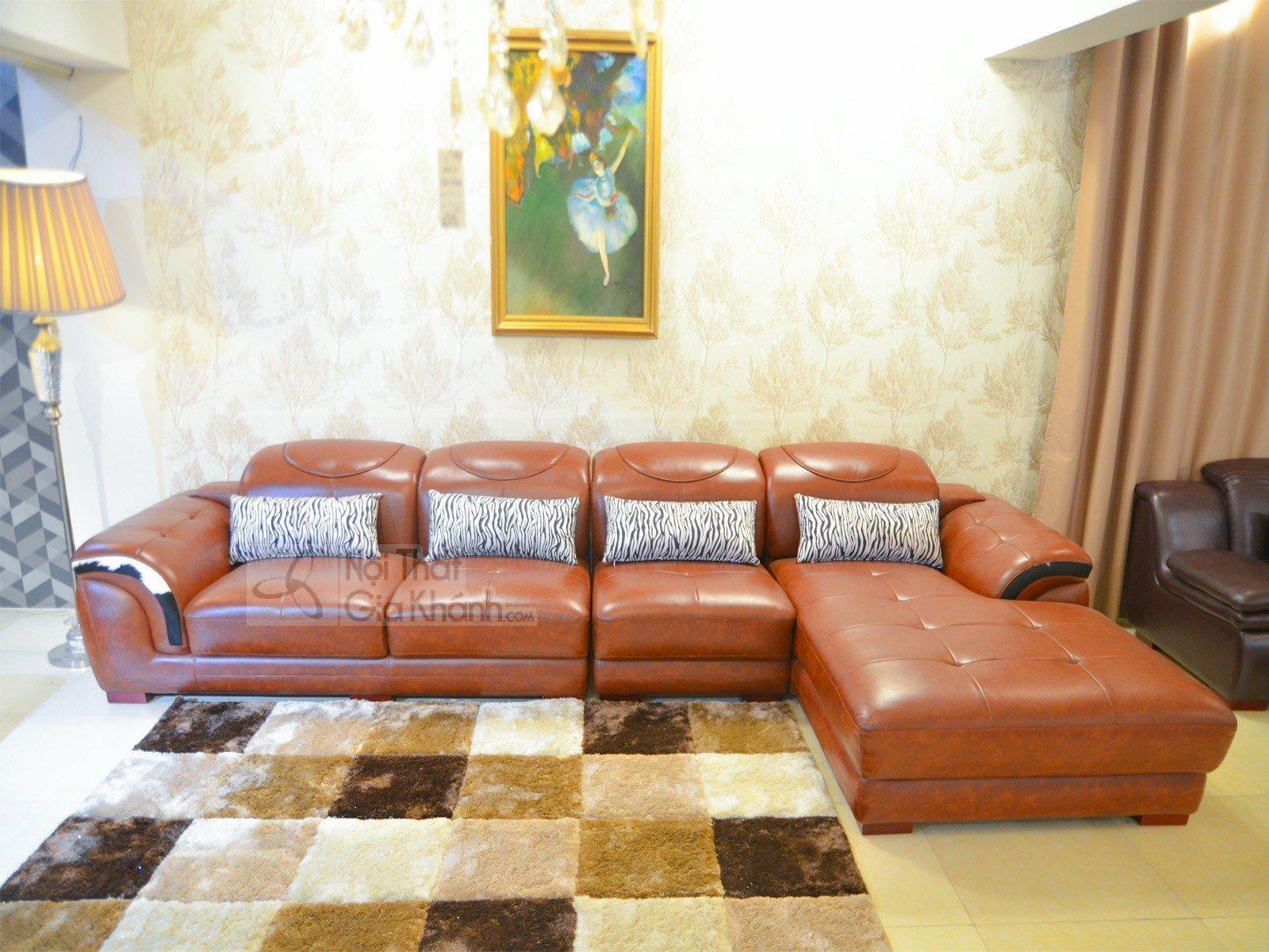 Ghế sofa da phòng khách hiện đại SP0919-2-E1