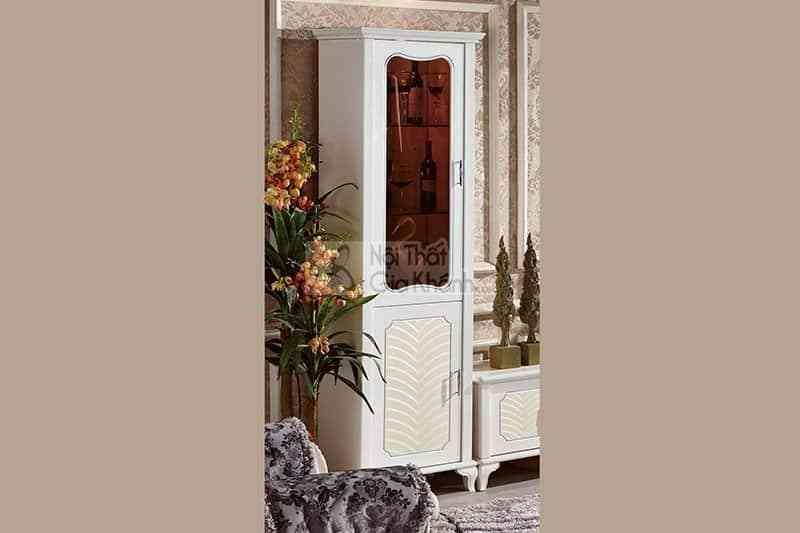 Bộ kệ ti vi – tủ rượu gỗ công nghiệp sang trọng cho phòng khách 83609BT12