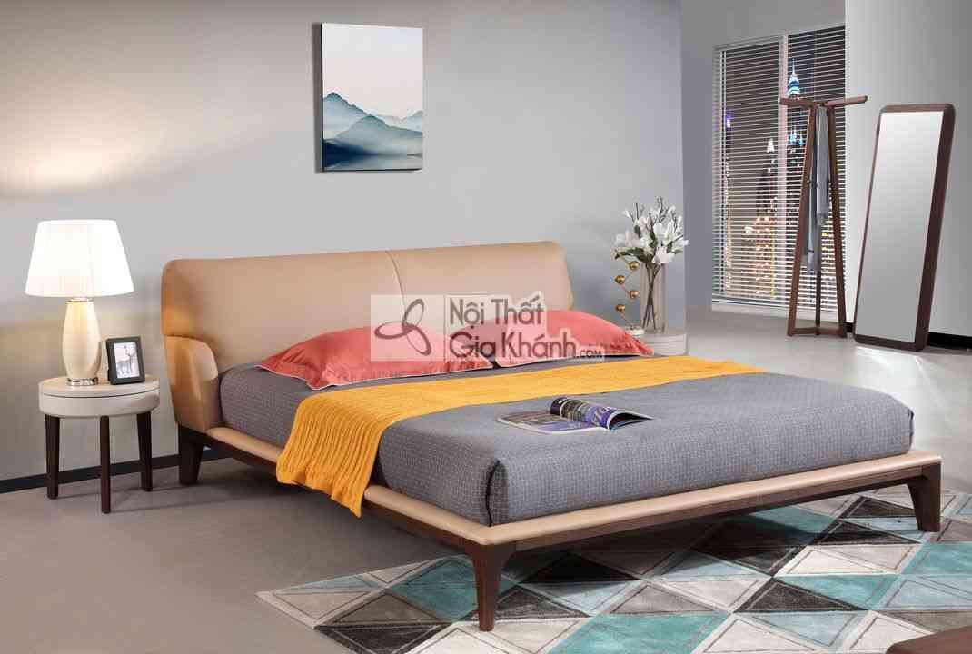 Giường Ngủ Hiện Đại Cao Cấp Gỗ Tự Nhiên 1803Al - A1803L AL