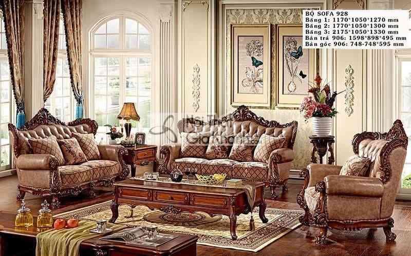 Bảng giá ghế sofa chuẩn nhất thị trường hiện nay - Bao gia sofa chuan nhat thi truong phan khuc cao cap dac biet 4