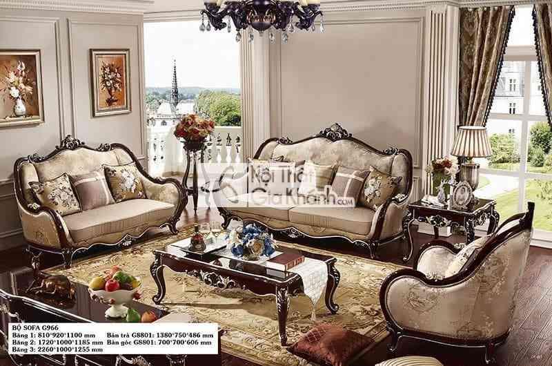 Ghế sofa tại Thanh Hóa và Vinh - G966