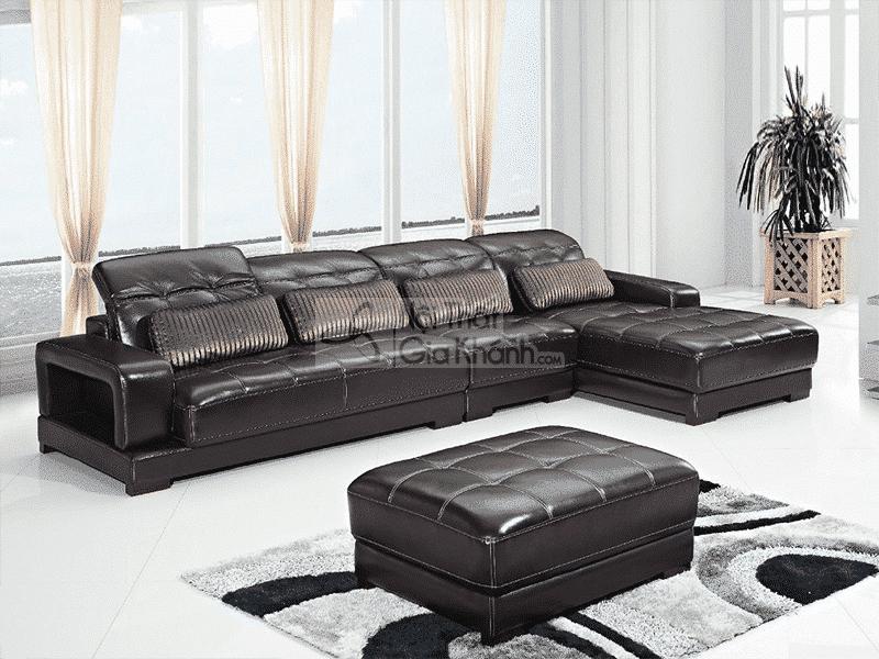 Ghế sofa da thật: đẳng cấp chỉ dành cho những người biết tiêu tiền - Ghe sofa da that dang cap chi danh cho nhung nguoi biet tieu tien 1