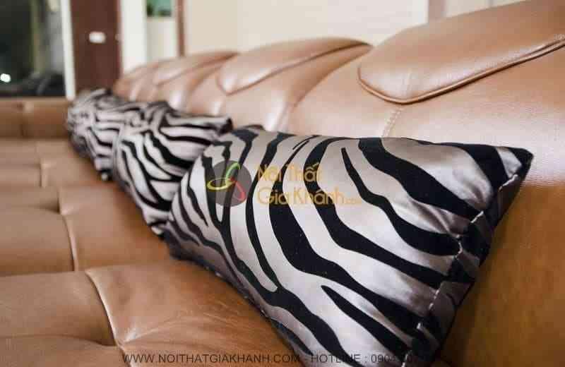 Ghế sofa da thật: đẳng cấp chỉ dành cho những người biết tiêu tiền - Ghe sofa da that dang cap chi danh cho nhung nguoi biet tieu tien 3