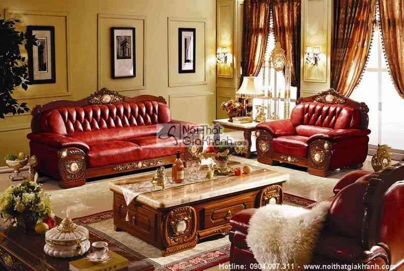 Ghế sofa da thật: đẳng cấp chỉ dành cho những người biết tiêu tiền - Ghe sofa da that dang cap chi danh cho nhung nguoi biet tieu tien 4