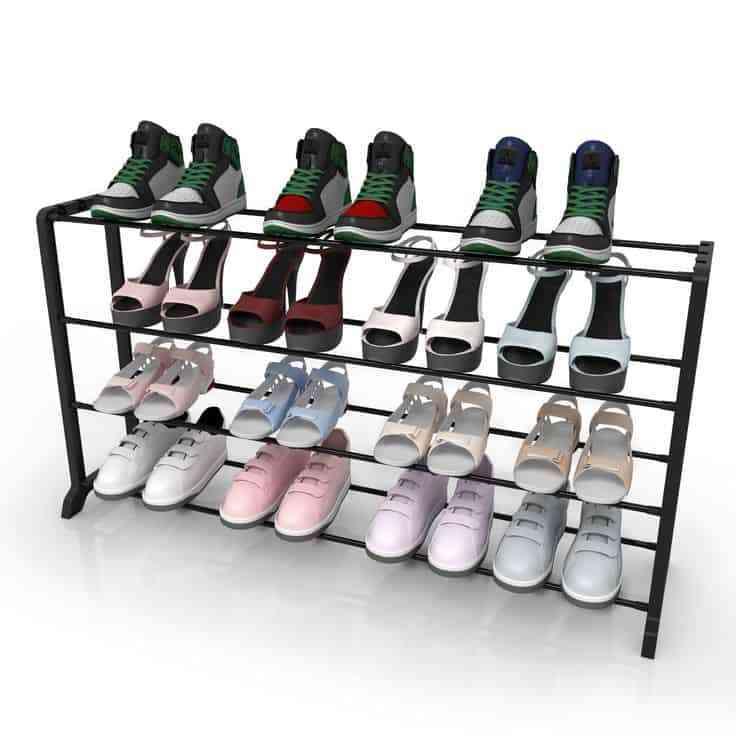 Những thiết kế giá để giày đẹp, độc, lạ - Gia de giay dep doc la 4