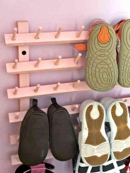 Những thiết kế giá để giày đẹp, độc, lạ - Gia de giay dep doc la 5