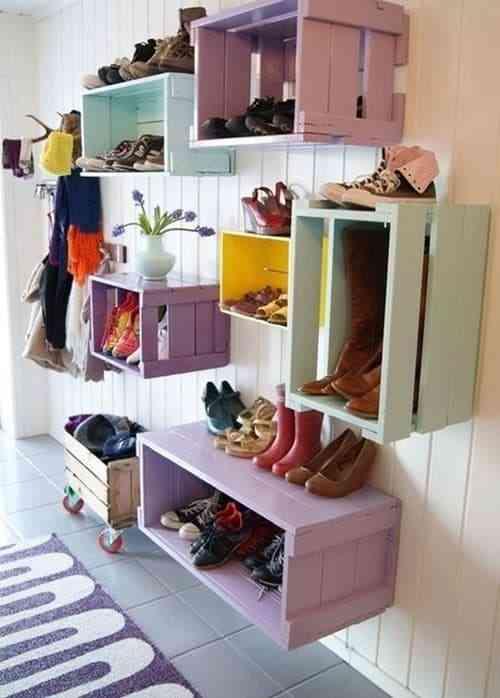 Những thiết kế giá để giày đẹp, độc, lạ - Gia de giay dep doc la 6