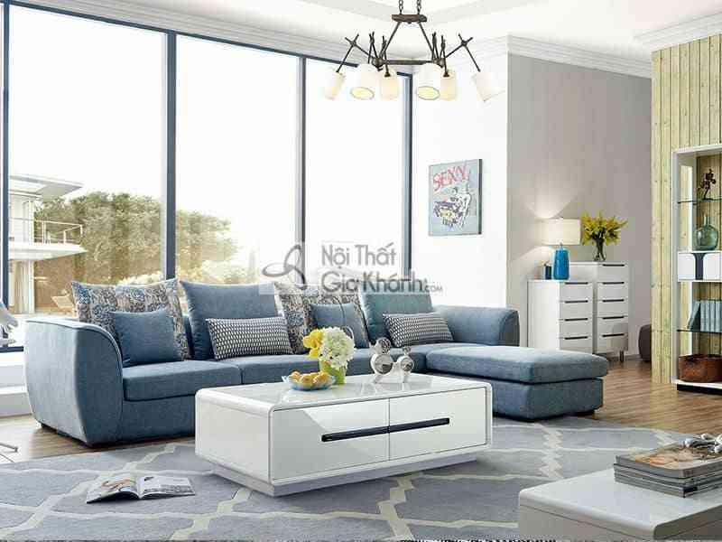Sofa nỉ góc chữ L hiện đại SF309-2F - HD980 Original Size compressed