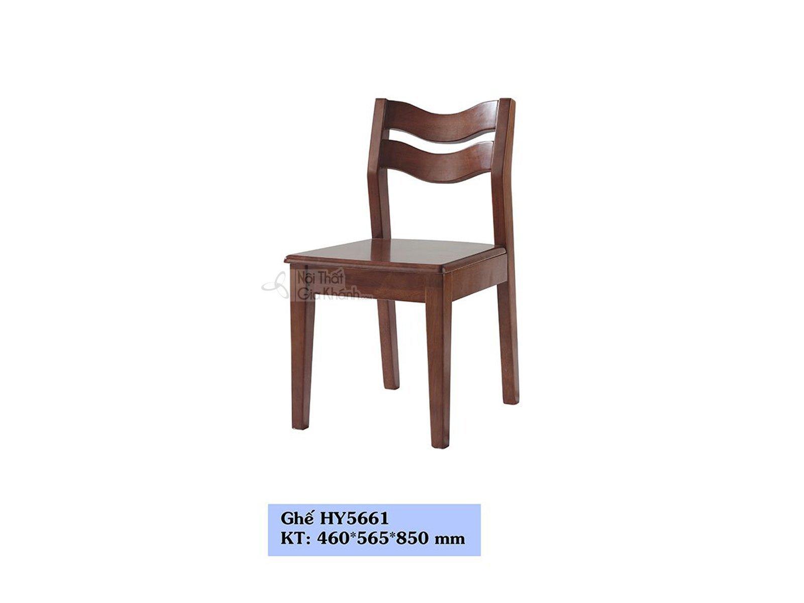 GHẾ ĂN GỖ NÂU NHẠP KHẨU HY5661 - HY5661