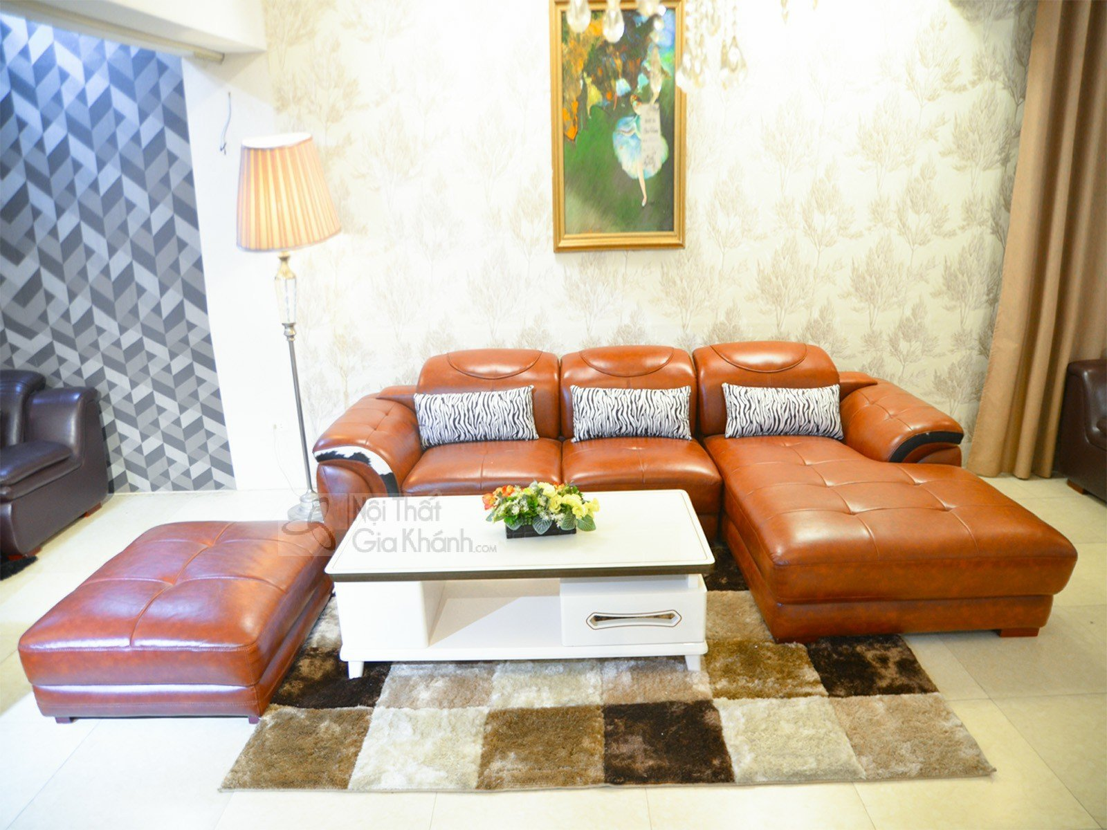 Sofa da góc chữ L hiện đại ST0919-2-E1